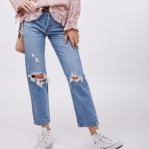 New LEVI'S Wedgie Straight Jeans
